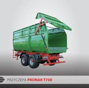 PRONAR - Przyczepa T700